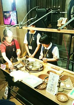 20170807糸とりにつかわれる銅鍋.jpg